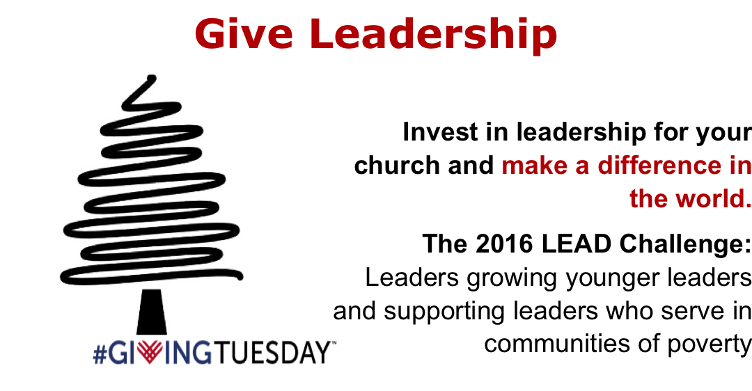 Give Leadership to make a difference in the world