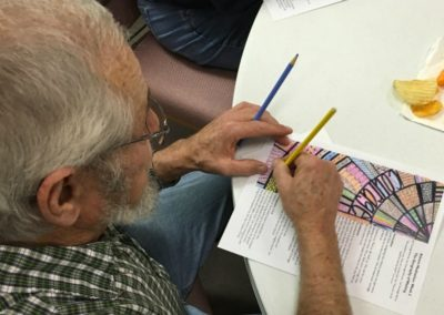 Advent 2015 Coloring at St. Mark's Bloomfield NE