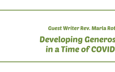 Developing Generosity in a Time of COVID-19
